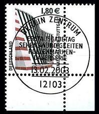 BUND SWK-Euro 1,80 €, Mi. 2313 - Eckrand u.r. mit ESST (Staatsgalerie Stuttgart)