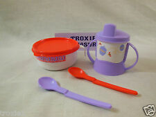 Tupperware Kids Disney Winnie The Pooh Lot Feeding Bowl Sippy Cup 2 Hang Spoons