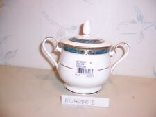 NEW Noritake ESSEX COURT Covered Sugar Bowl - BRAND NEW IN THE BOX