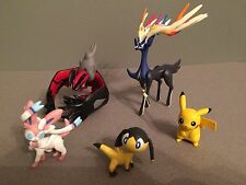 Xerneas Pikachu Sylveon and Yveltal Pokemon Super 4 Figure Pack by Tomy