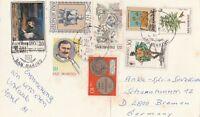 San Marino wunderschöne Ansichtskarte mit wertvollen Briefmarken 1981