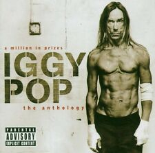 """Iggy Pop """"A Million in Prizes/The Anthology"""" 2 CD nuevo!!!"""
