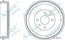 1x OE Quality Replacement Rear Axle Apec Brake Drum 4 Stud 228.5mm
