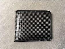 Real Carbon Fiber Leather Wallet BLACK Stitches ID FOR e60 e63 w208 wrx sr20det