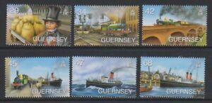 Guernsey - 2006, Isambard Königreich Set - MNH - Sg 1110/15