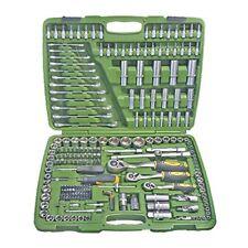 Maletín de herramientas JBM 216 piezas. llaves Bernegal carraca