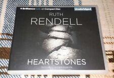 Heartstones by Ruth Rendell (Unabridged Audiobook CD, 2010) Audio Book