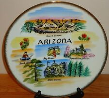 Vintage Arizona State collector's plate Japan 10.75""