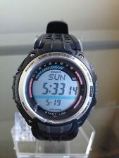 newstuffdaily: NIB CASIO SGW200 Pedometer Digital Watch etm