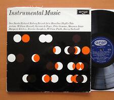 RG 475 Instrumental Music Don Banks Phyllis Tate etc 1966 ARGO ED1 MONO