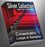 Cinematic Silver Collection Part 1 Loops Cubase Reason Presonus Ableton FLStudio
