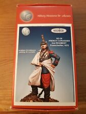 54mm SGF Soldiers French Cuirassier 1870 No Pégaso Models  No Andrea Miniaturas