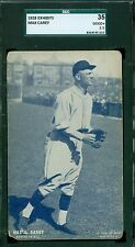 1928 Exhibit Card - Max Carey - Pittsburgh Pirates - SGC 35