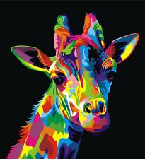 "abstract giraffe Canvas Print  Large  20"" x 20"