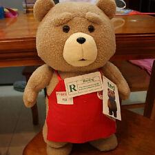 18'' Ted Movie Teddy Bear Shirt Plush Stuffed Animal Soft Toy Pillow Doll gift