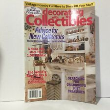 Decorating With Collectibles Spring 1999 Magazine Free Shipping Illust