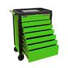 Sealey Rollcab 7 Drawer Push-To-Open Hi-Vis Green APPD7G (B)