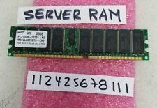 1GB PC DDR1 DDR PC2100R DDR-266 2100R 266 RDIMM ECC-REG 128X4 1RX4 ECC CACHE RAM