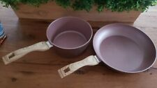 Country Kitchen Speckled Cook Set Pot and Frying Pan