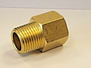 BSP-NPT Adapters , Male BSPT to Female NPT Exten in Brass, European to American