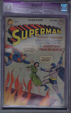 Superman #76 DC Pub 1952 Batman Crossover CGC 8.5 (VERY FINE +, SLIGHT RESTORED)