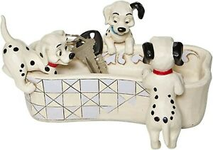 Disney Traditions 101 Dalmatians Puppy Bowl Bone Dish 6008060
