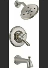 Delta T17494-SS Linden Monitor 17 Series Tub and Shower Trim in Stainless