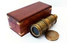 Vintage Brass Telescope Victorian1915 Nautical Antique Functional 20''telescope