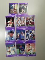 1990 STAR CO MARK GRACE Star SET (11 CARDS) CHICAGO Cubs, #BC002