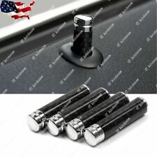 Door Lock Pins Knob Black Carbon Fiber for BMW 1 3 5 7 Series X1 X3 X4 X5 X6