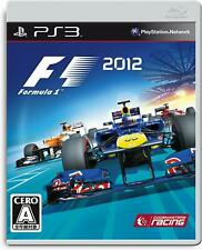 Used Sony PS3 Japan F1 2012 from Japan PlayStation 3