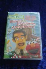 DVD.SESAME STREET.ELMO'S CHRISTMAS COUNTDOWN.NEW AND SEALED.STILLER.CLASSIC.