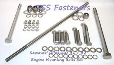 Kawasaki GPz1100/GPz 1100 B1/B2 Engine Mounting Bolts Set - Stainless Steel