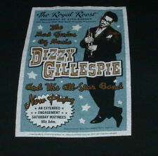 Dizzy Gillespie T Shirt L Royal Roost Jazz Bop Nyc