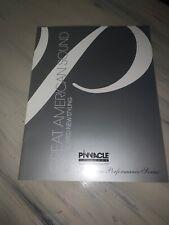 """Pinnacle Speakers Dealer Brochure- """"platinum Performance Series"""" 2002."""