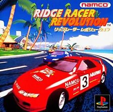 Used PS ONE Ridge Racer Revolution Namco  PS 1 SONY PLAYSTATION JAPAN IMPORT