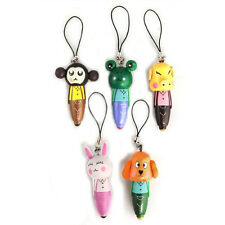 5 Cute Lovely Animal Black Refill Ball Point Ballpoint Pen