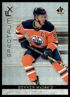 2019-20 UD SP Authentic Spectrum FX #S-28 Connor McDavid - Edmonton Oilers