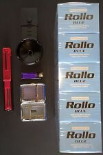START-UP KIT 1000 ROLLO Tobacco Tubes FREE Injector Tray Lighter CIGARETE Case