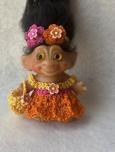 """Handmade Troll Doll Clothes for 2 1/2""""-Vintage Dam-combined shipping"""