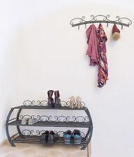 Armoire à chaussures avec Vestiaire mural Set Bo Meuble à chaussures