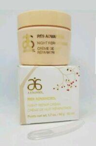 ARBONNE RE9 Advanced ANTI AGEING - Night Repair Cream - Vegan 10x 3ml (30ml)