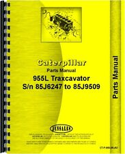 Caterpillar 955L Traxcavator Parts Manual (SN# 85J6247-85J9509)