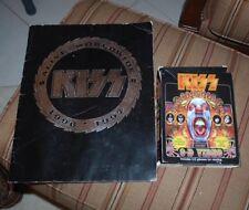 2 Lot-1996-97 KISS ALIVE WORLD WIDE REUNION TOUR SOUVENIR PROGRAM KISS PSYCHO CD