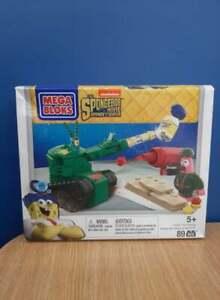 Mega Bloks Spongebob Movie Sponge Out of Water Pickle Tank Attack NIP
