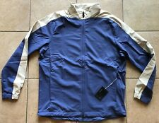 Nike Golf Dri-Fit Tech Full-Zip Jacket-Stone Blue/Birch-Large-Nwt