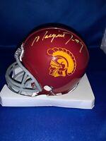 Marqise Lee signed USC mini helmet with Worldwide Authentics COA