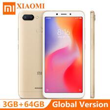 """XIAOMI Redmi 6 3+64GB 5.45"""" Cellulare 4G Smartphone Face ID Helio P22 Octa core"""
