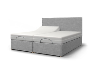 Majestic TWIN 4ft 6 Double, 5ft King or 6ft SuperKing Electric Adjustable Bed-H2