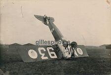 Aviation c. 1925 - Avion Morane à Avord Accident - AVI 15